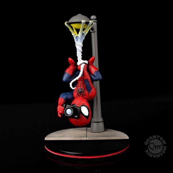 Qフィグ/ マーベルコミック: スパイダーマン スパイダーカム PVCフィギュア[クアンタム・メカニックス]《在庫切れ》