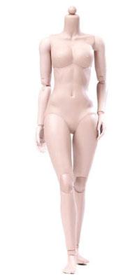 1/6 シン シリーズ スーパーフレキシブル女性素体 プラスチックジョイント ペール ミドルバスト(再販)[POP Toys]《06月仮予約》