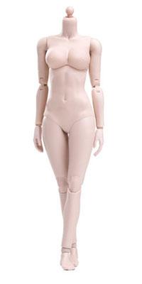 1/6 シン シリーズ スーパーフレキシブル女性素体 プラスチックジョイント ペール ラージバスト(再販)[POP Toys]《06月仮予約》