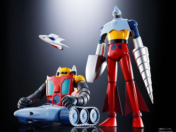 超合金魂 GX-91 ゲッター2&3 D.C. 『ゲッターロボ(テレビアニメ版)』[BANDAI SPIRITS]【送料無料】《01月予約》