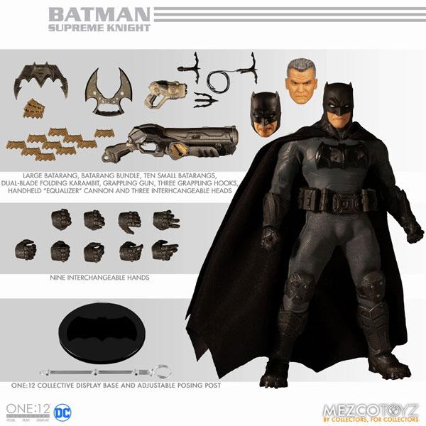 ワン12コレクティブ/ DCコミックス: シュプリーム・ナイト バットマン 1/12 アクションフィギュア[メズコ]《在庫切れ》