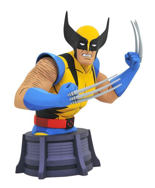 『X-MEN アニメイテッド』 マーベル ミニバスト ウルヴァリン[ダイアモンドセレクト]《在庫切れ》