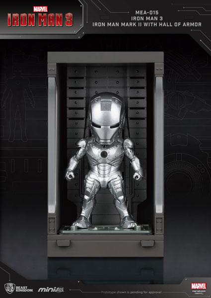ミニ・エッグアタック 『アイアンマン3』シリーズ1 アイアンマン・マーク2[ビーストキングダム]《06月仮予約》