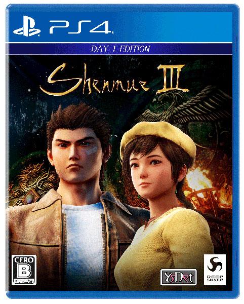 【特典】PS4 シェンムーIII - リテールDay1エディション[Deep Silver]《11月予約》