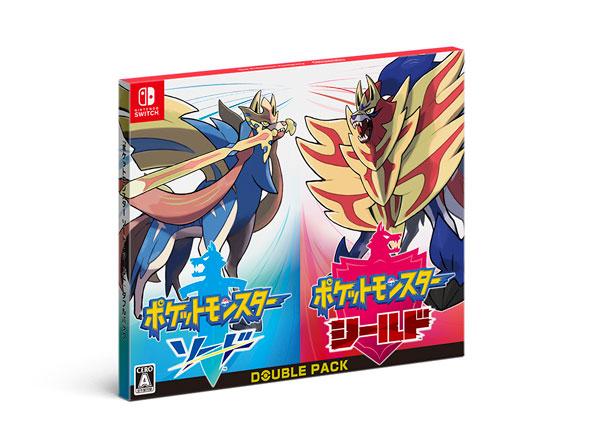 (箱破損特価新品)Nintendo Switch 『ポケットモンスター ソード・シールド』ダブルパック[任天堂]【送料無料】《発売済・在庫品》