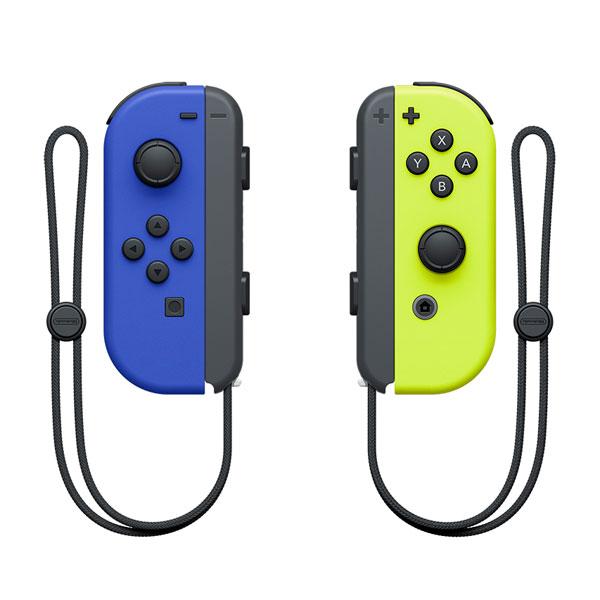 Nintendo Switch用 Joy-Con(L) ブルー/(R) ネオンイエロー[任天堂]【送料無料】《発売済・在庫品》