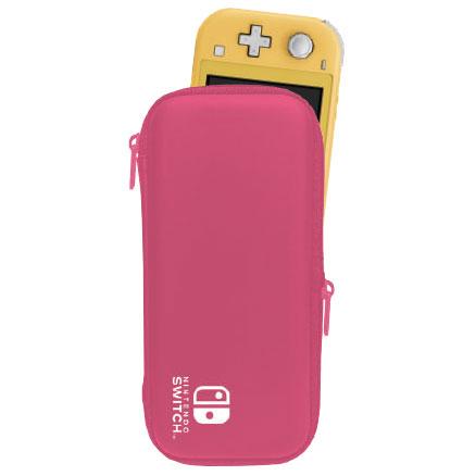Nintendo Switch Lite専用 スマートポーチ EVA ピンク[マックスゲームズ]《在庫切れ》
