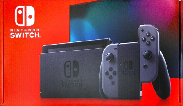 Nintendo Switch Joy-Con(L)/(R) グレー (本体)[任天堂]《発売済・在庫品》