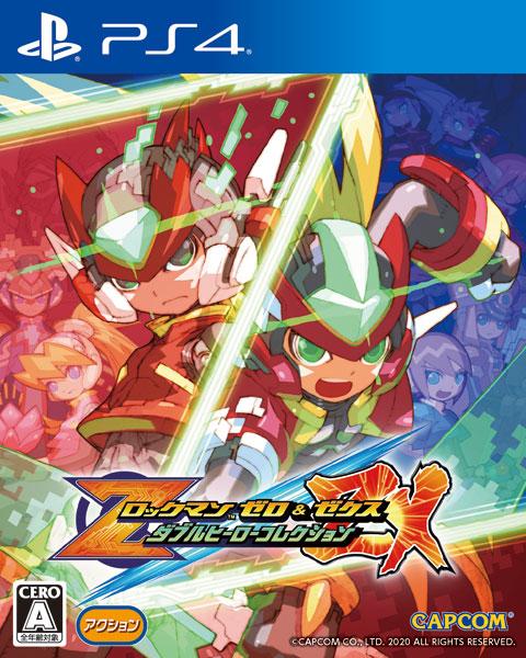 【特典】PS4 ロックマン ゼロ&ゼクス ダブルヒーローコレクション[カプコン]《02月予約》
