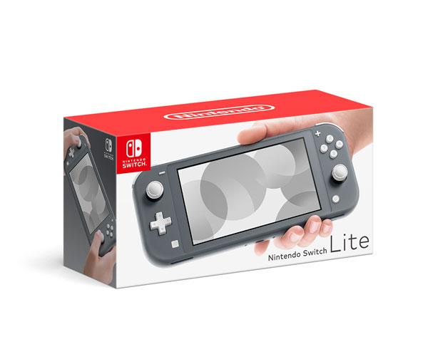Nintendo Switch Lite グレー[任天堂]【送料無料】《09月予約》