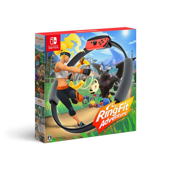 Nintendo Switch リングフィット アドベンチャー[任天堂]《在庫切れ》