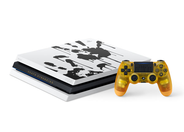 PlayStation 4 Pro DEATH STRANDING LIMITED EDITION[SIE]【送料無料】《在庫切れ》