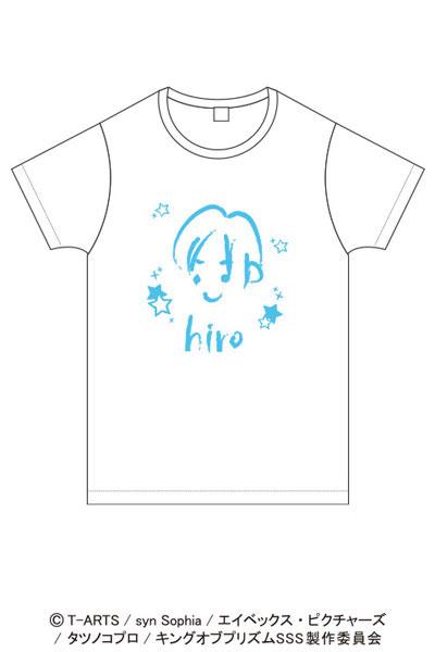 KING OF PRISM クレヨン風アートTシャツ 速水ヒロ[ACOS]《在庫切れ》