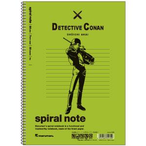 名探偵コナン ノート(B5サイズ) 赤井秀一[ヒサゴ]《在庫切れ》