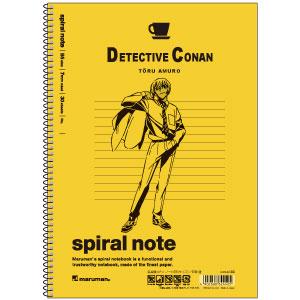 名探偵コナン ノート(B5サイズ) 安室透[ヒサゴ]《在庫切れ》