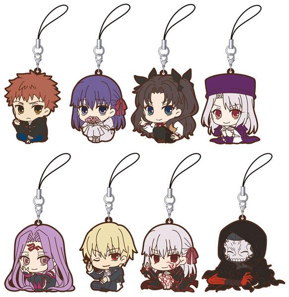 Fate/stay night Heaven's Feel ViVimusラバーストラップコレクション 8個入りBOX[ムービック]《発売済・在庫品》