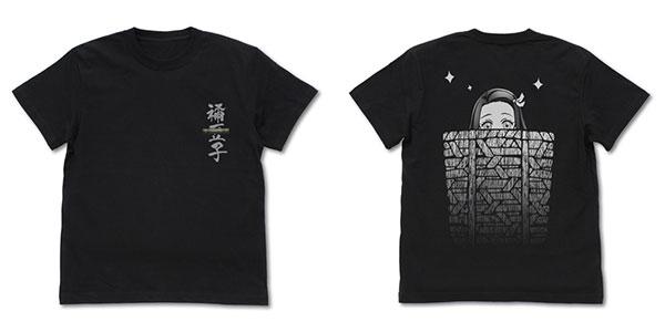 鬼滅の刃 籠の中の禰豆子 Tシャツ/BLACK-L(再販)[コスパ]《11月予約》