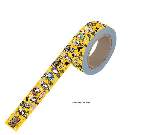 マスキングテープ「TIGER & BUNNY」01/ちりばめデザイン オレンジ(グラフアート)[A3]《08月予約》