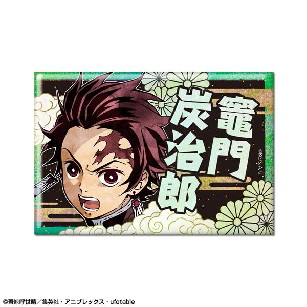 鬼滅の刃 ホログラム缶バッジ デザイン02(竈門炭治郎/B)(再販)[ライセンスエージェント]《12月予約》