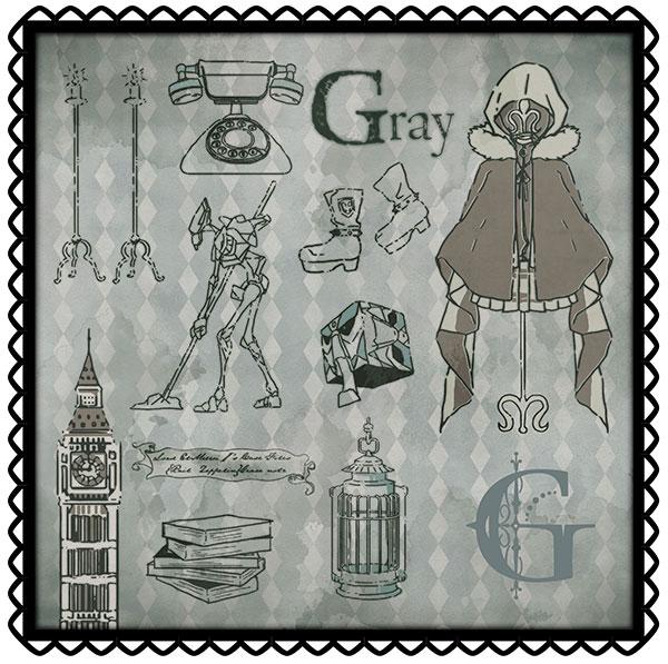ロード・エルメロイII世の事件簿 -魔眼蒐集列車 Grace note- ハンドタオル グレイ[ムービック]《発売済・在庫品》