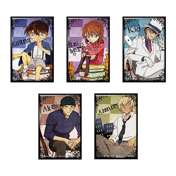 名探偵コナン ヴィンテージシリーズ スクエア缶バッジ~チェス~ 6個入りBOX[ツインクル]《発売済・在庫品》