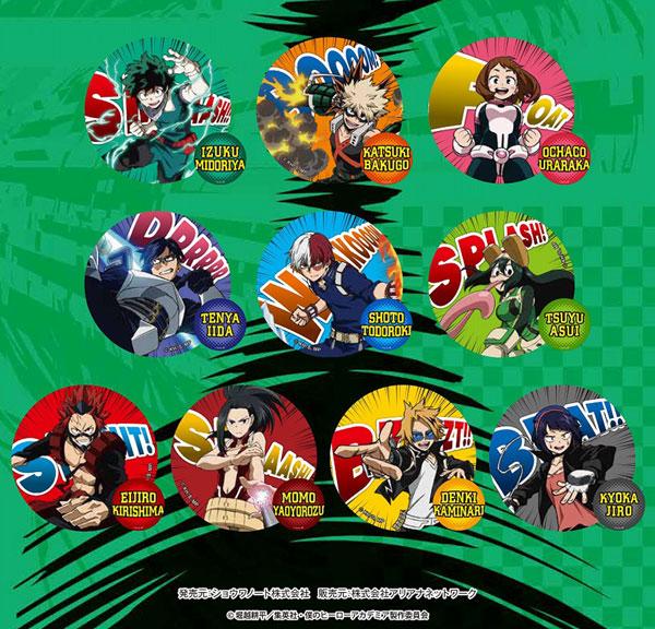 僕のヒーローアカデミア チェンジング缶バッジ 10個入りBOX(再販)[ショウワノート]《発売済・在庫品》