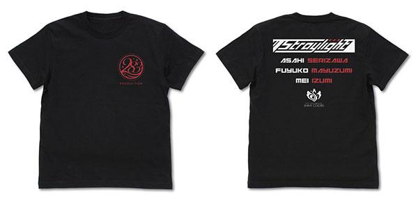 アイドルマスター シャイニーカラーズ 283プロ ストレイライト Tシャツ/BLACK-L(再販)[コスパ]《在庫切れ》