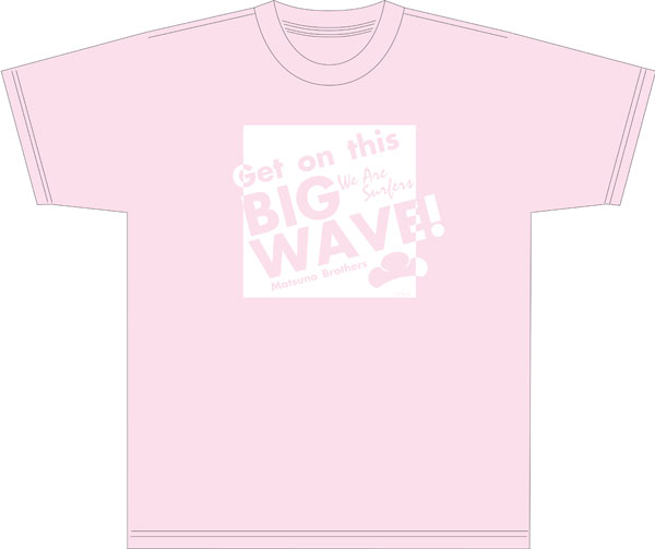 おそ松さん WE ARE SURFERS Tシャツ トド松[コンテンツシード]《在庫切れ》
