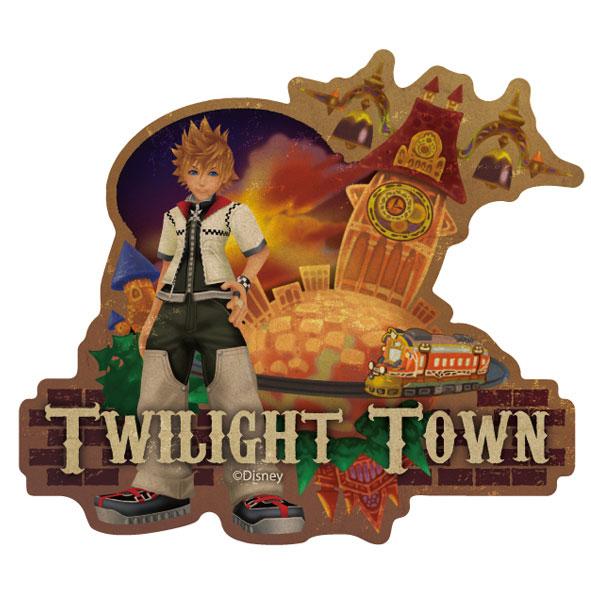 キングダムハーツ トラベルステッカー(3) TWILIGHT TOWN[エンスカイ]《取り寄せ※暫定》