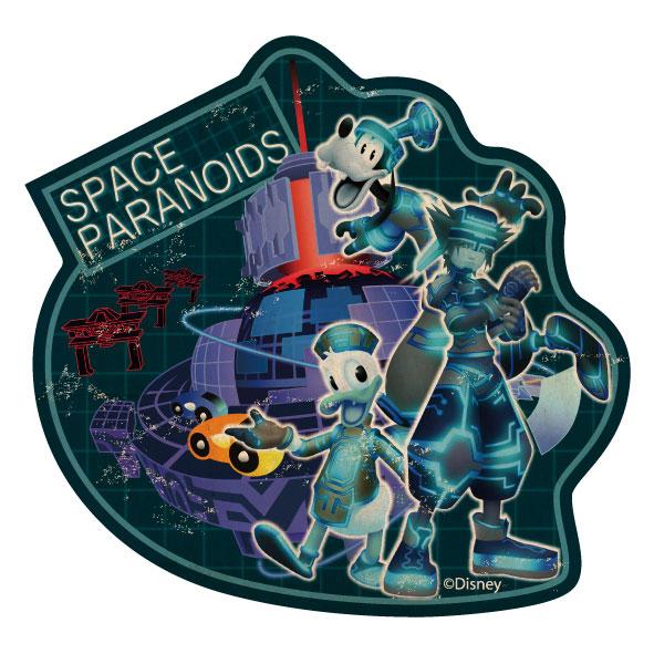キングダムハーツ トラベルステッカー(6) SPACE PARANOIDS[エンスカイ]《発売済・在庫品》