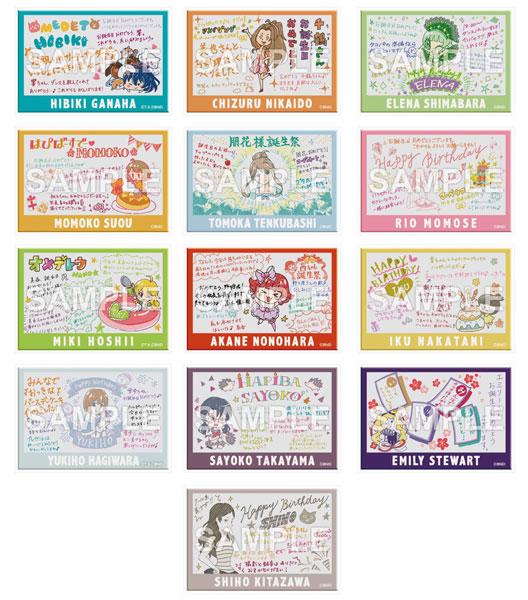 アイドルマスター ミリオンライブ! トレーディング缶バッジ (バースデイイラストver.) F 13個入りBOX[Gift]《在庫切れ》
