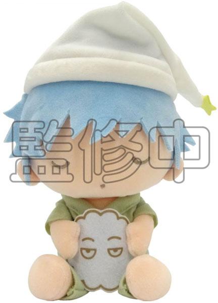 銀魂×Sanrio characters YOROZUYA×TSおやすみ柄むにゅぐるみS(銀時)[KThingS]《発売済・在庫品》