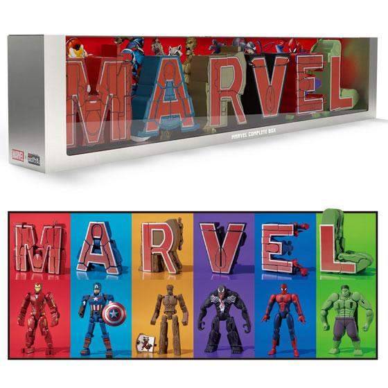 超変換!!もじバケる MARVEL Complete Box (食玩)[バンダイ]《11月予約》
