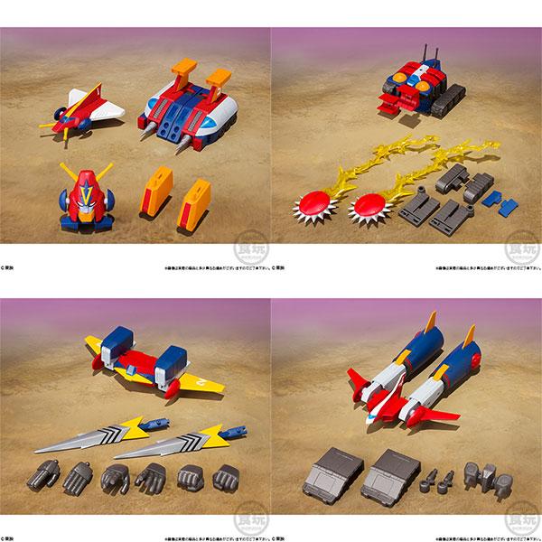 スーパーミニプラ 超電磁ロボ コン・バトラーV 4個入りBOX (食玩)[バンダイ]【送料無料】《発売済・在庫品》