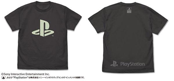 """プレイステーション 蓄光Tシャツ """"PlayStation""""/SUMI-L(再販)[コスパ]《06月予約》"""
