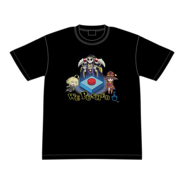 異世界かるてっと WE PUSHED Tシャツ M[グルーヴガレージ]《在庫切れ》