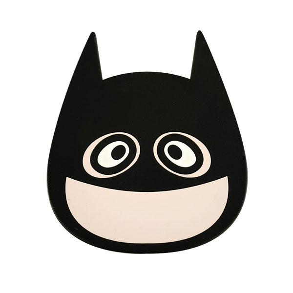 b.wing(B.ウイング) X ジャスティス・リーグ シリコン コースター バットマン[ソープスタジオ]《在庫切れ》