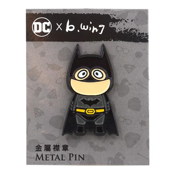 DC x b.wing(B.ウイング) メタルピン バットマン[ソープスタジオ]《在庫切れ》
