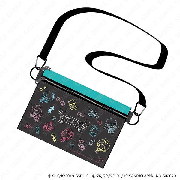 文豪ストレイドッグス×サンリオキャラクターズ サコッシュ[KADOKAWA]《発売済・在庫品》