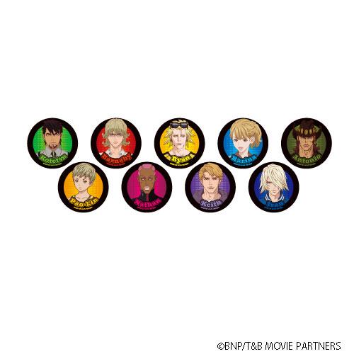 缶バッジ「劇場版 TIGER & BUNNY -The Rising-」01/ 9個入りBOX[A3]《10月予約》