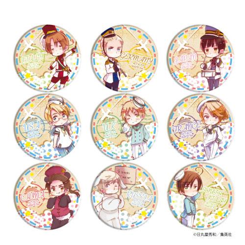缶バッジ「ヘタリア World☆Stars」03/ 9個入りBOX[A3]《発売済・在庫品》