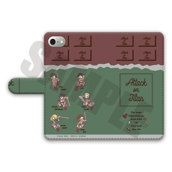 進撃の巨人 手帳型スマホケース(iPhoneXS MAX)SWEETOY-A[プレイフルマインドカンパニー]《11月予約》