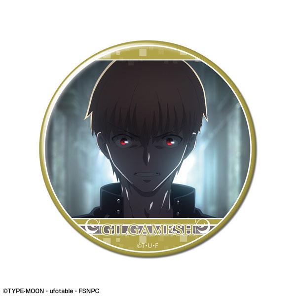 劇場版「Fate/stay night [Heaven's Feel]」 缶バッジ デザイン18(ギルガメッシュ/B)(再販)[ライセンスエージェント]《在庫切れ》