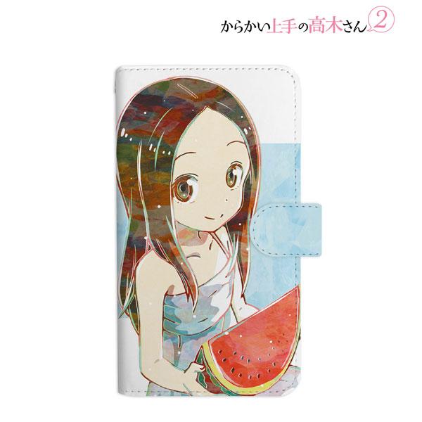 からかい上手の高木さん2 高木さん Ani-Art 手帳型スマホケース Mサイズ[アルマビアンカ]《12月予約》