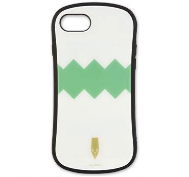 ジョジョの奇妙な冒険 ダイヤモンドは砕けない iPhone 8/7/6s/6対応 ハイブリッドガラスケース 岸辺露伴 (JJK-50A)[グルマンディーズ]《在庫切れ》