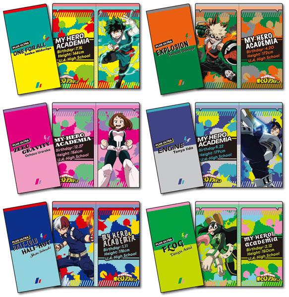 僕のヒーローアカデミア チケットホルダー 12個入りBOX[タカラトミーアーツ]《発売済・在庫品》