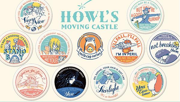 ハウルの動く城 缶バッジコレクション 10個入りBOX[ムービック]《在庫切れ》