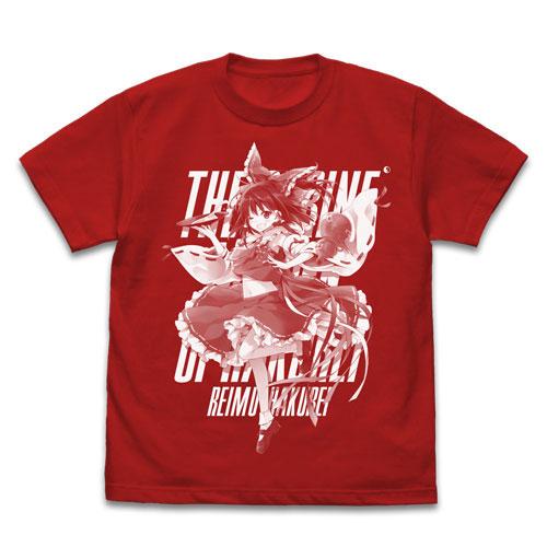 東方Project 博麗霊夢 えれっとVer. Tシャツ/RED-S(再販)[コスパ]《07月予約》