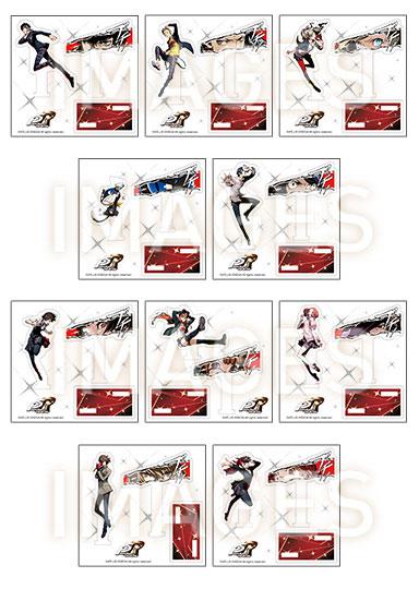 ペルソナ5 ザ・ロイヤル アクリルダブルミニフィギュア 10個入りBOX(再販)[一二三書房]《在庫切れ》