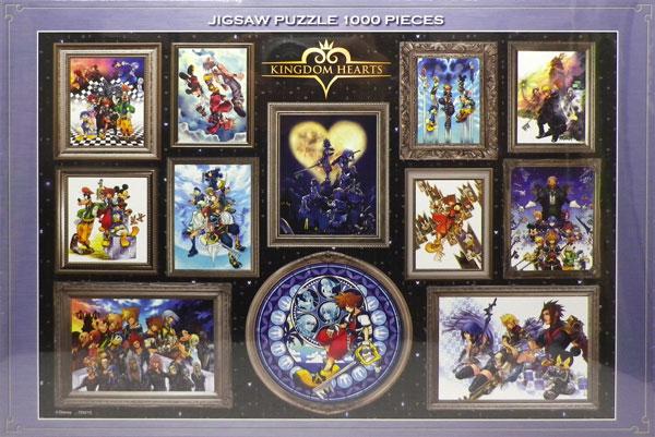 ジグソーパズル キングダム ハーツ アート集 1000ピース (D-1000-051)[テンヨー]《取り寄せ※暫定》